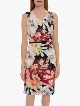 Gina Bacconi Elena Floral Print Dress, Multi
