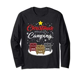 Camper Christmas Begins With Camping Van Xmas Costume Long Sleeve T-Shirt