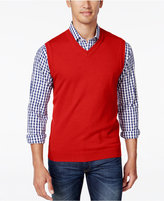 Club Room Men's Big and Tall V-Neck Sweater Vest