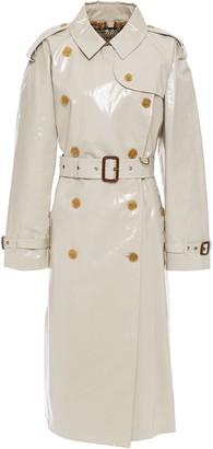Burberry Coated Cotton-gabardine Trench Coat