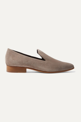 Vince Lela Suede Loafers - Taupe