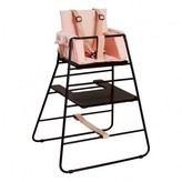 Budtzbendix Body Harness for High Chair Towerchair - Black and Leather