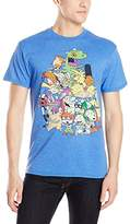 Nickelodeon Men's Nicktoons Supergroup T-Shirt