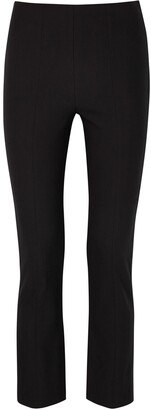 Vince Black Stretch-jersey Trousers