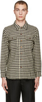 Visvim Black Check Big Game Shirt