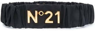 No.21 Logo Plaque Belt