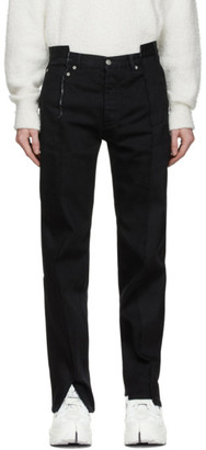 Maison Margiela Black Two Toned Jeans