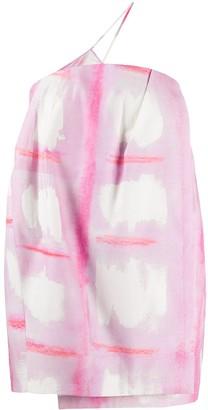 Jacquemus La robe Soleil single suspender mini dress