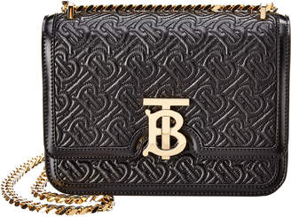 Burberry Tb Quilted Monogram Leather Shoulder Bag