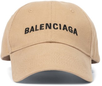 Balenciaga Logo cotton baseball cap