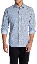 Tailorbyrd Yangtze Long Sleeve Printed Shirt