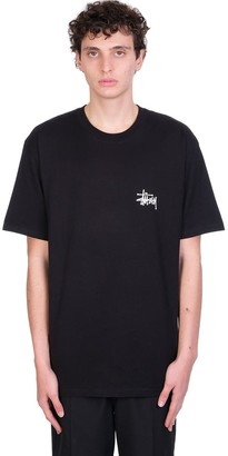 Stussy T-shirt In Black Cotton