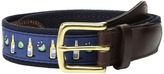 Vineyard Vines Beer Lime Canvas Club Belt Men's Belts
