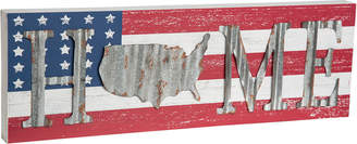 Americana Transpac Wood Multicolor 4Th Of July Home Wall Art
