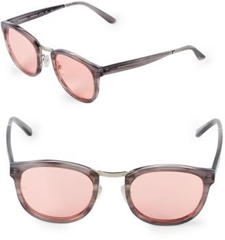 Smoke X Mirrors Crossroad 49MM Square Sunglasses