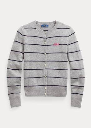 Ralph Lauren Striped Wool Cardigan