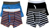 Trimfit Big Boys Stripes Boxer Briefs 4-Pack, L