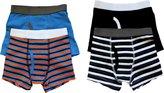 Trimfit Big Boys Stripes Boxer Briefs 4-Pack, M