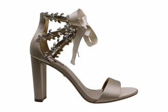 Badgley Mischka Women's Block Heel Sandal Heeled