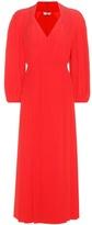 Fendi Silk Crêpe De Chine Dress