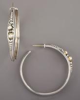 Konstantino Pearl Hoop Earrings
