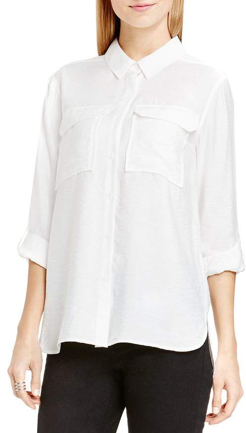 Vince Camuto VINCE CAMTUO Roll Sleeve Utility Shirt