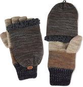 Muk Luks Ombre Fingerless Flip Top Gloves
