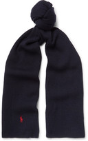Polo Ralph Lauren - Ribbed-knit Merino Wool Scarf