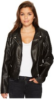 Members Only Quilted Moto Jacket Women's Coat