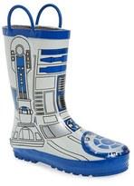 Western Chief Boy's 'Star Wars(TM) - R2-D2' Waterproof Rain Boot
