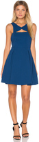 BCBGeneration Cutout V Back Dress