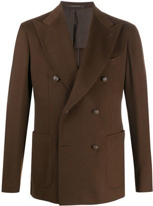 Tagliatore Double-Breasted Cashmere Jacket