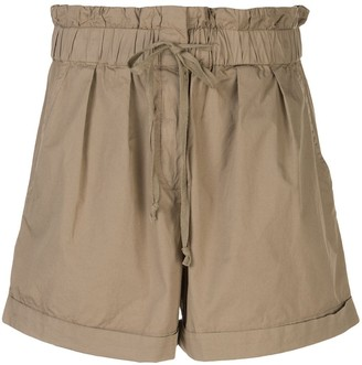 Sea High-Waisted Shorts