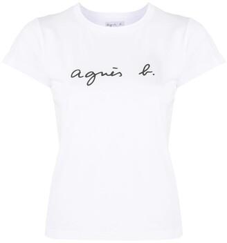 agnès b. Brando short-sleeved T-shirt