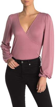 Pst By Project Social T Blouson Sleeve Knit Body Suit