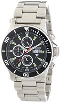 Ingersoll Gents Watch Chronograph XL Automatic IN1511BKMB Stainless Steel