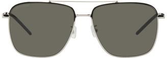 Saint Laurent Silver SL 376 Sunglasses