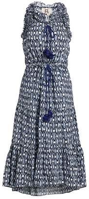 Figue Gabriella Ikat Midi Dress