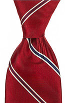 Roundtree & Yorke Trademark Today Striped Traditional Silk Tie