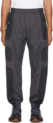 Nike Black and Grey NSW Re-Issue Track Pants