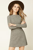 Forever 21 Marled Knit Skater Dress