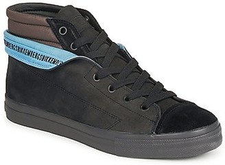 Bikkembergs PLUS MID SUEDE men's Shoes (High-top Trainers) in Black