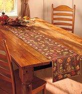 """ABC 72"""" Harvest Leaves Table Runner"""