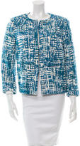 Piazza Sempione Printed Tweed Jacket