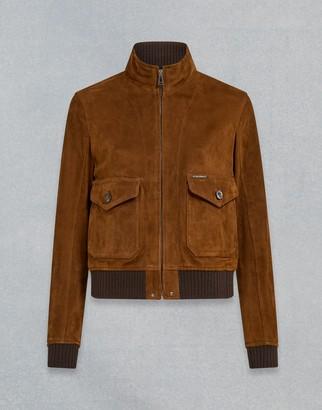 Belstaff Amelia Suede Jacket