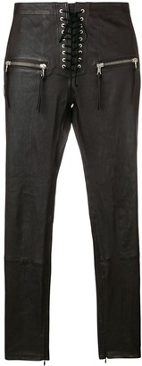 Unravel skinny trousers
