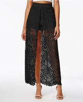 Material Girl Juniors' Lace-Overlay Skort, Only at Macy's