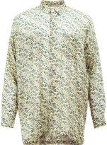 08sircus floral print shirt - men - Cotton/Cupro - 4