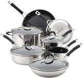 Circulon Momentum Nonstick Cookware Set - Stainless Steel - 11 pc