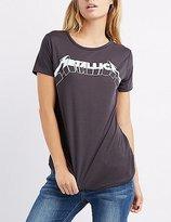 Charlotte Russe Metallica Graphic Tee